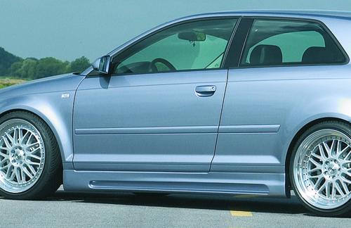 Audi A3 8P 03-12 3Дв Накладки на пороги