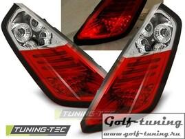 Fiat Grande Punto 05-09 Фонари светодиодные, красно-белые