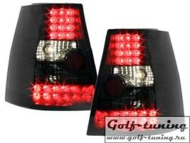 VW Golf 4 Универсал Фонари светодиодные, черно-тонированные