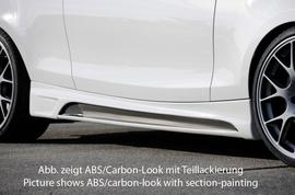 BMW E81/E82/E88 04-11 Накладки на пороги Carbon Look