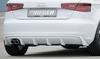Audi A3 8V 12-16 3/5Дв Диффузор для заднего бампера черный