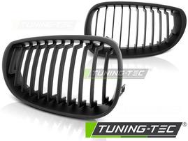 BMW E60/E61 03-10 Решетки радиатора (ноздри) черные