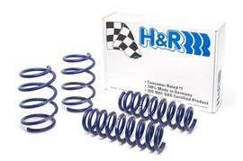 Honda Civic 01- Комплект пружин H&R с занижением -35mm