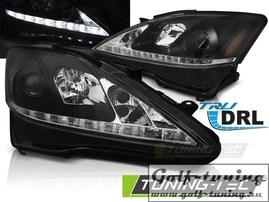 Lexus IS 06-13 Фары Devil eyes, Dayline черные