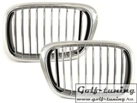 BMW E39 96-03 Решетки радиатора (ноздри) хром