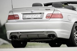 BMW E46 Глушитель rieger typ 14