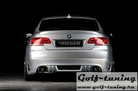 BMW E92/E93 06-10 Накладка на задний бампер