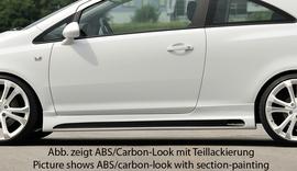 Opel Corsa D 06-14 3Дв Накладки на пороги