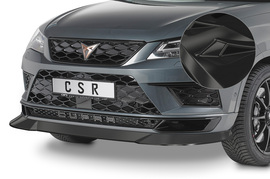 Seat Cupra Ateca 18- Накладка на передний бампер глянцевая