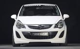 Opel Corsa D 10-14 Накладка на передний бампер