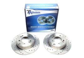 Hyundai Grandeur/Sonata V/Kia Optima Комплект спортивных тормозных дисков