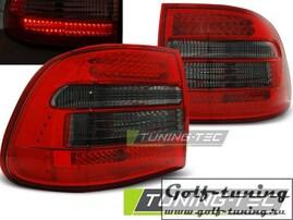 Porsche Cayenne 02-06 Фонари светодиодные, красно-тонированные