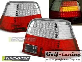 VW Golf 4 Фонари светодиодные, красно-белые