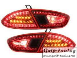 Seat Leon 1P1 09-12 Фонари светодиодные, красные