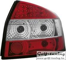 Audi A4 B6 00-04 Фонари светодиодные, красно-белые