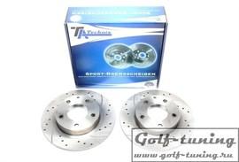 Ford Probe II/Mazda 626/ MX-6/Premacy/Xedos 6 Комплект спортивных тормозных дисков