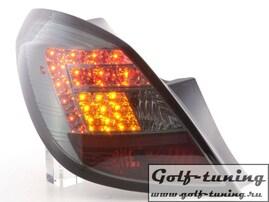 Opel Corsa D 5Дв 06-14 Фонари светодиодные, тонированные