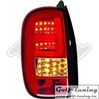 Renault Duster 11-17 Фонари светодиодные, красно-белые Lightbar design