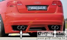 Audi A3 8P 5D Sportback Глушитель rieger