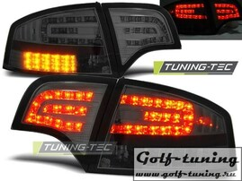 Audi A4 B7 04-08 Седан Фонари светодиодные, тонированные с светодиодным поворотником