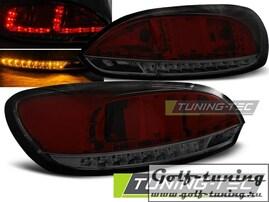 VW Scirocco 08-14 Фонари светодиодные, красно-тонированные
