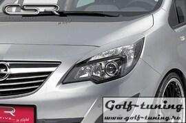 Opel Meriva B 10- Реснички на фары