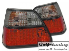 VW Golf 2 Фонари светодиодные, красно-тонированные