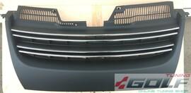 VW Golf 5 GTI/Jetta 5 Решетка радиатора без значка с хром полосками