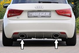Audi A1 8X 10- Глушитель Rieger