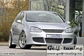VW Golf 5 Передний бампер Racing 2