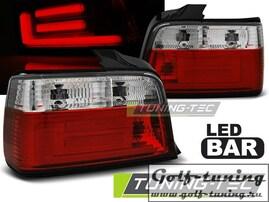 BMW E36 Седан Фонари светодиодные, красно-белые Lightbar