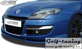 Renault Laguna 3 Phase 2 / Facelift 11- Спойлер переднего бампера VARIO-X