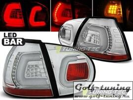 VW Golf 5 Фонари светодиодные, хром Lightbar