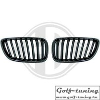 BMW F22/23 14-15 Решетки радиатора (ноздри) черные M-Performance Look