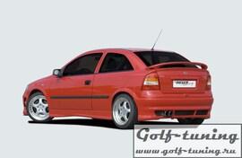 Opel Astra G Накладка на задний бампер