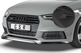 Audi A4 B9 8W S-Line / S4 B9 8W 15-18 Накладка на передний бампер Carbon look