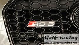 "Audi A5 / S5 / RS5 B8 / B81 11- Купе / Кабрио / Sportback Эмблема на решетку радиатора ""RS5"""
