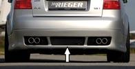 Audi A4 8E 00-04 Универсал Накладка на задний бампер