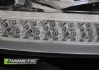 VW T6 15-20 Фары с динамическими/бегающими поворотниками хром
