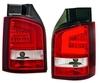 VW T5 09-15 Фонари красно-белые Lightbar design