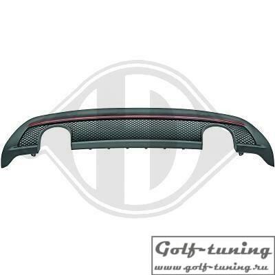 Mercedes W176 13- Накладка на задний бампер в стиле AMG