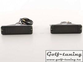 VW Golf 1, VW Golf 2 Поворотники тонированные в узкий бампер