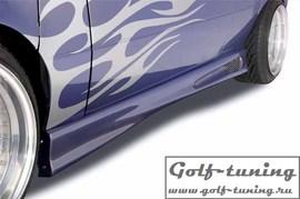 VW Golf 2 Накладки на пороги