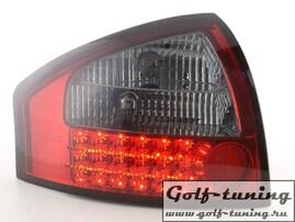 Audi A6 4B 97-04 Седан Фонари светодиодные, красно- тонированные