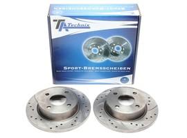 Nissan Micra II Комплект спортивных тормозных дисков
