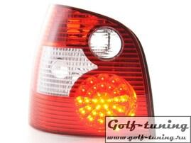 VW Polo 9N 01-05 Фонари светодиодные, красные