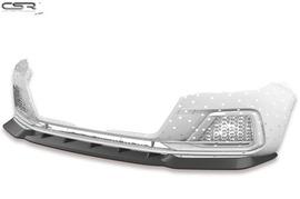 Audi A1 (Typ GB) 18- Накладка на передний бампер матовая