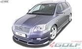 """Toyota Avensis (T25) 2003-2009 Накладки на пороги """"GT4"""""""