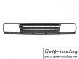 VW Jetta 2 Решетка радиатора без значка черная