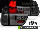 BMW X5 98-03 Фонари led bar design тонированные